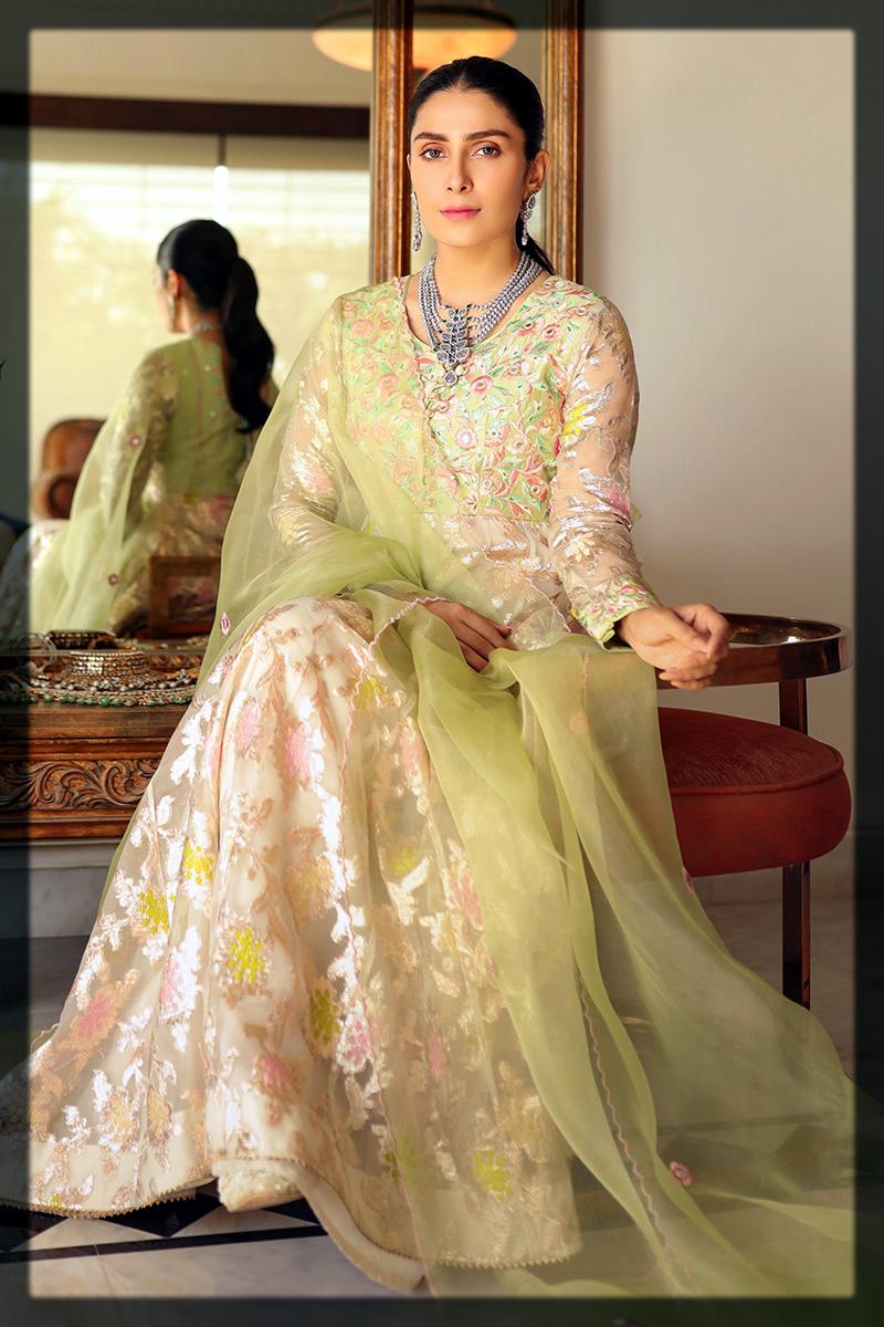 Latest and classy Ansab Jahangir Eid Collection