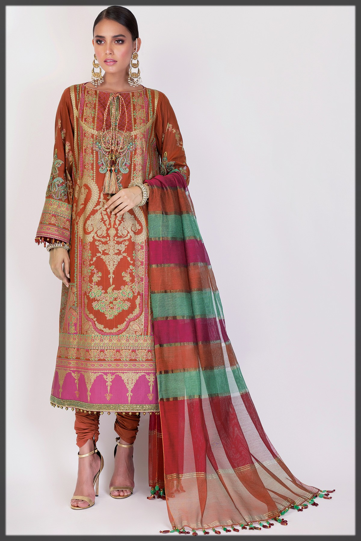 Latest and dazzling Alkaram Studio Eid Collection
