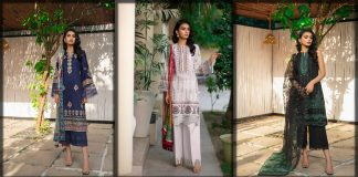 Saira Rizwan Embroidered Eid Lawn Collection 2021 [Unstitched Suits]