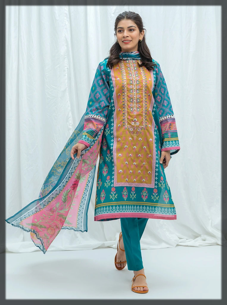 Unstitched Embroidered BeechTree Eid Collection