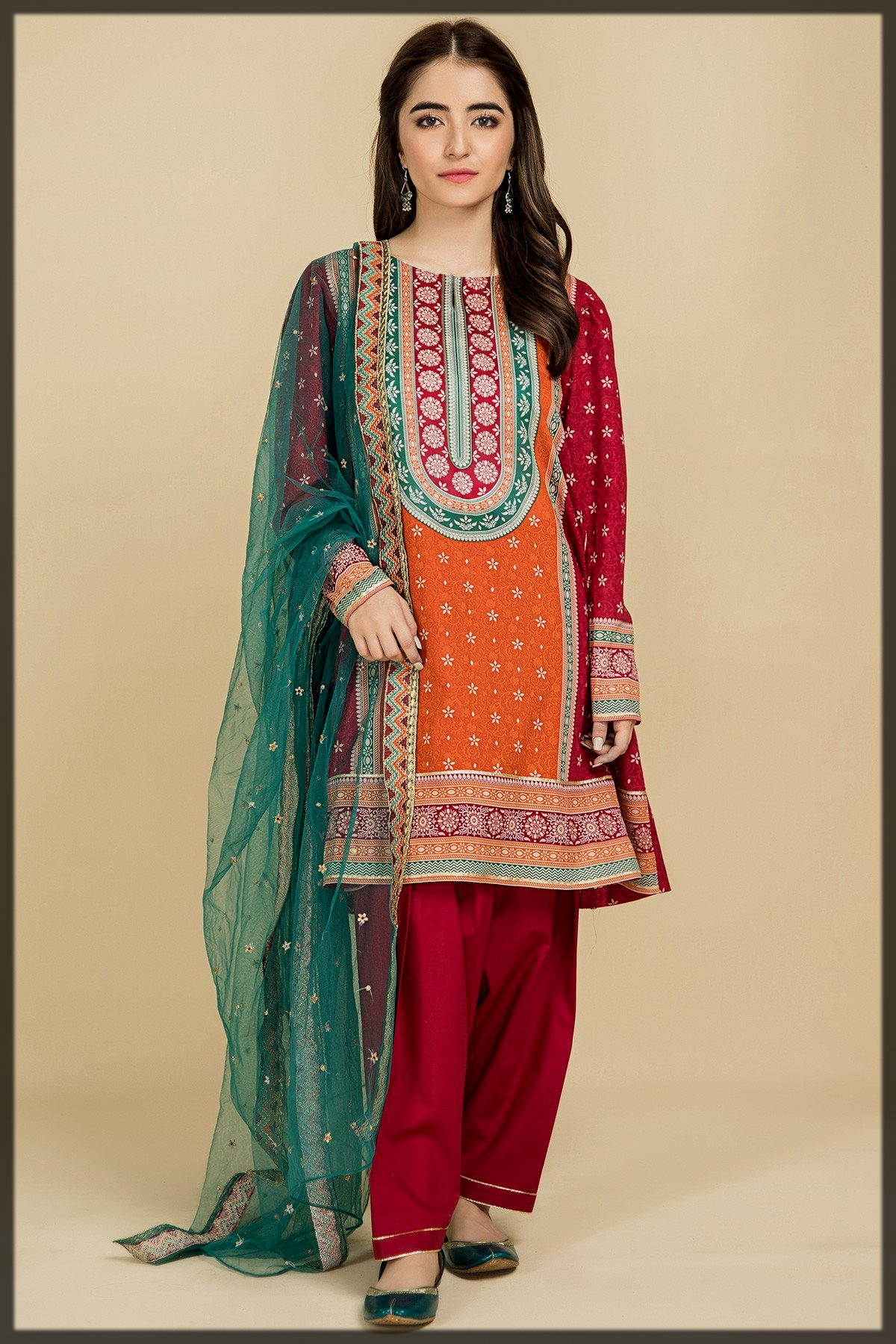 Unstitched Kayseria Eid Collection