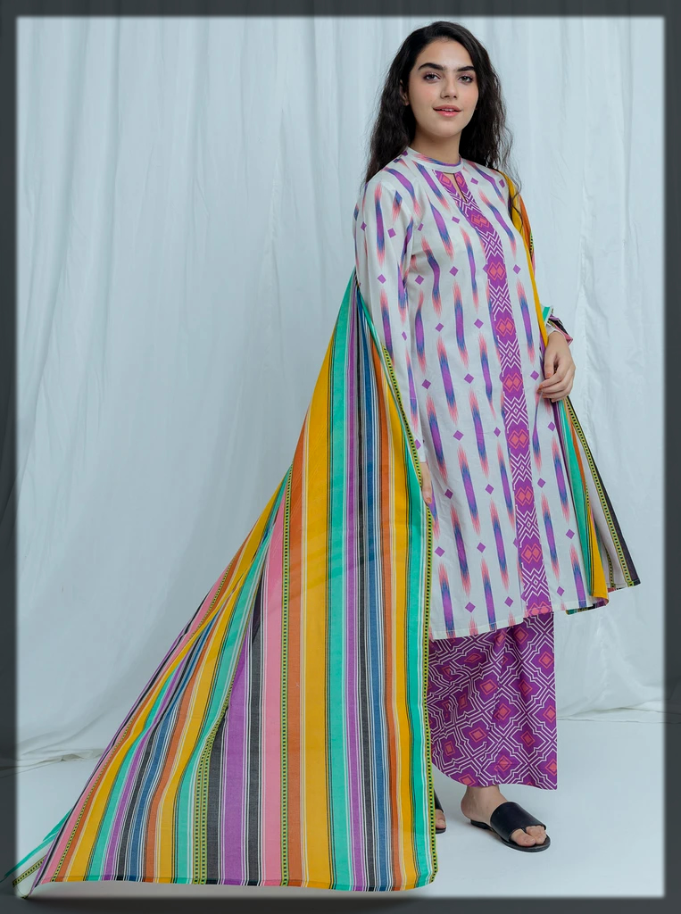 Unstitched Printed BeechTree Eid Collection
