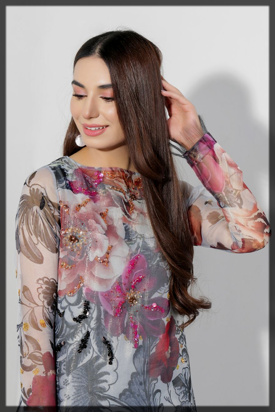 appealing lulusar eid dress for women