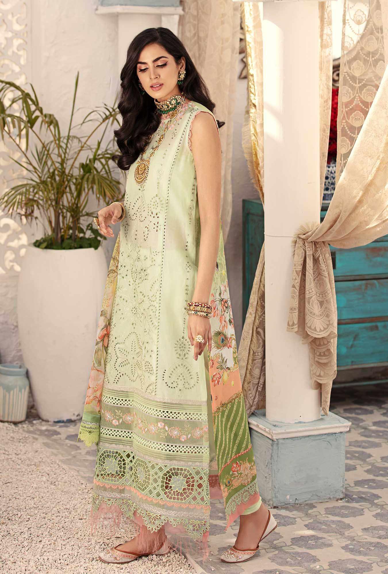 chikan kari Saadia Asad Eid Collection
