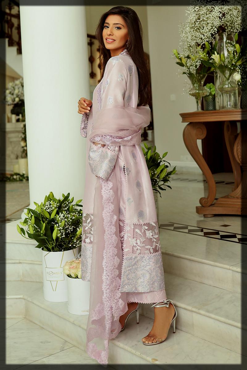 classy Ansab Jahangir Eid Suit