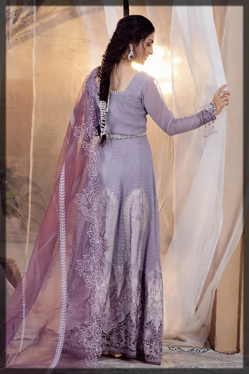 Mushq eid purple dress
