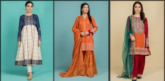 Kayseria Eid Collection 2021 Latest Unstitched & Stitched Suits with Prices