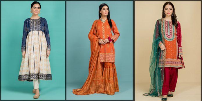 latest Kayseria Eid Collection for women