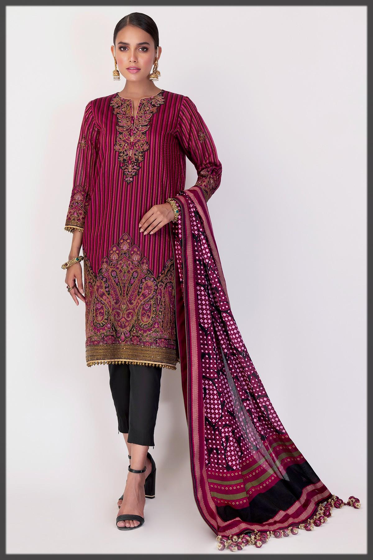 latest alkaram eid collection for women