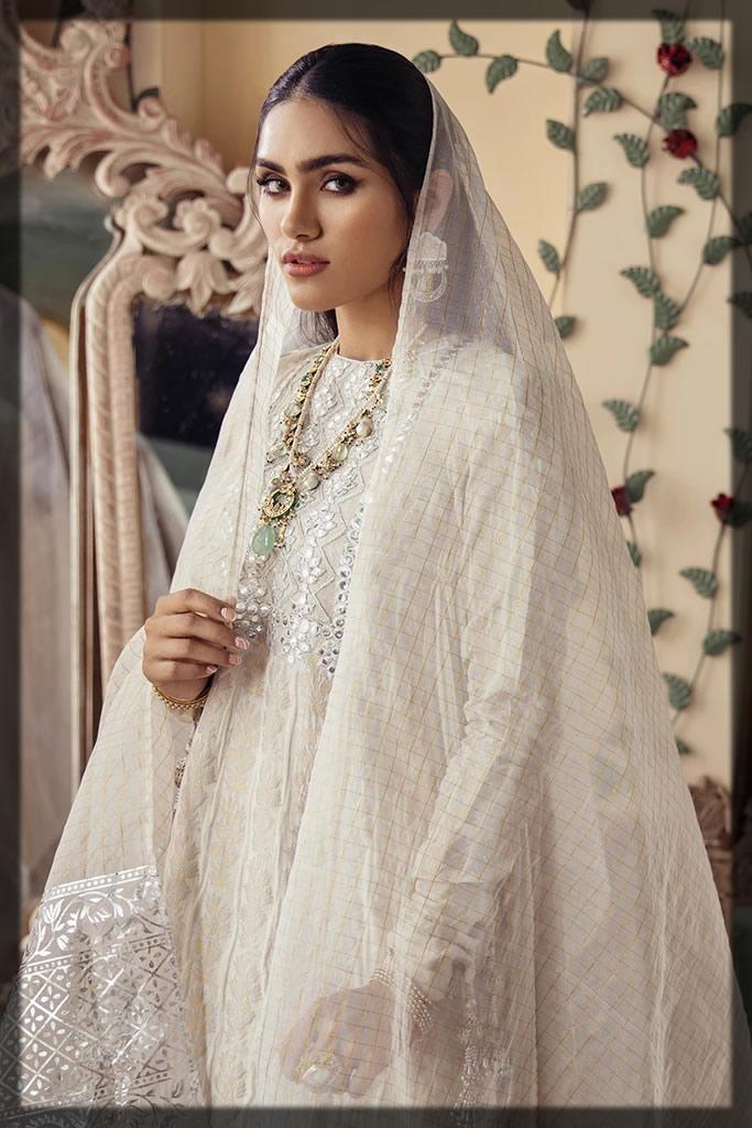 luxury embroidered eid dress