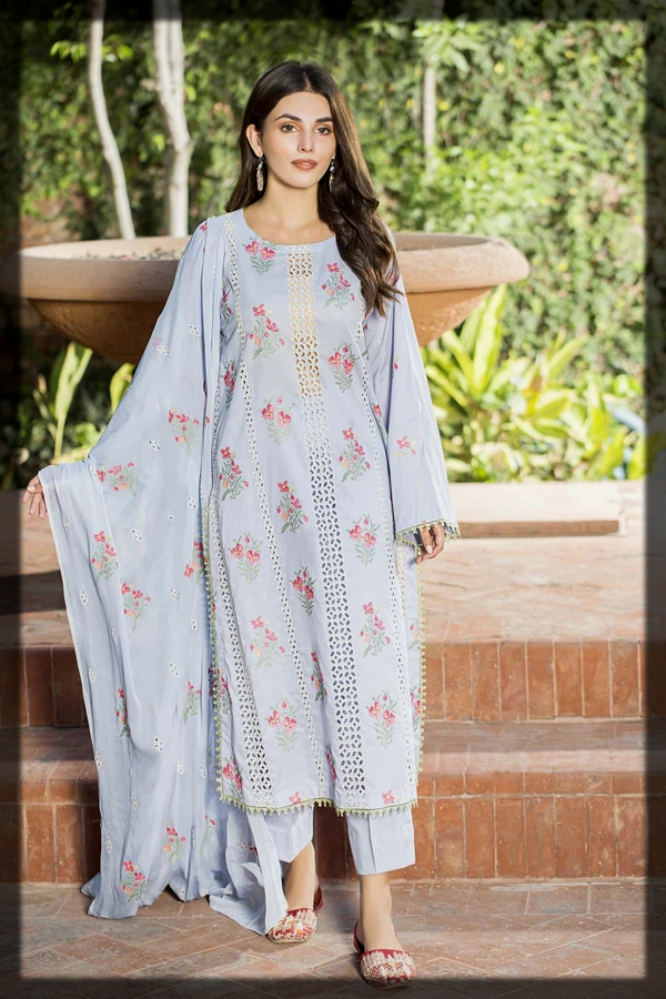 luxury lawn suit for women