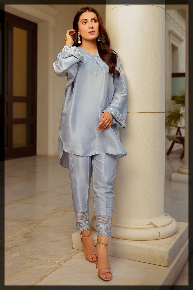 modest eid outfit for young girls