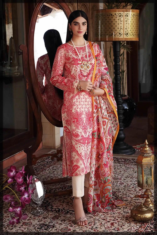 nishat linen pink dresses