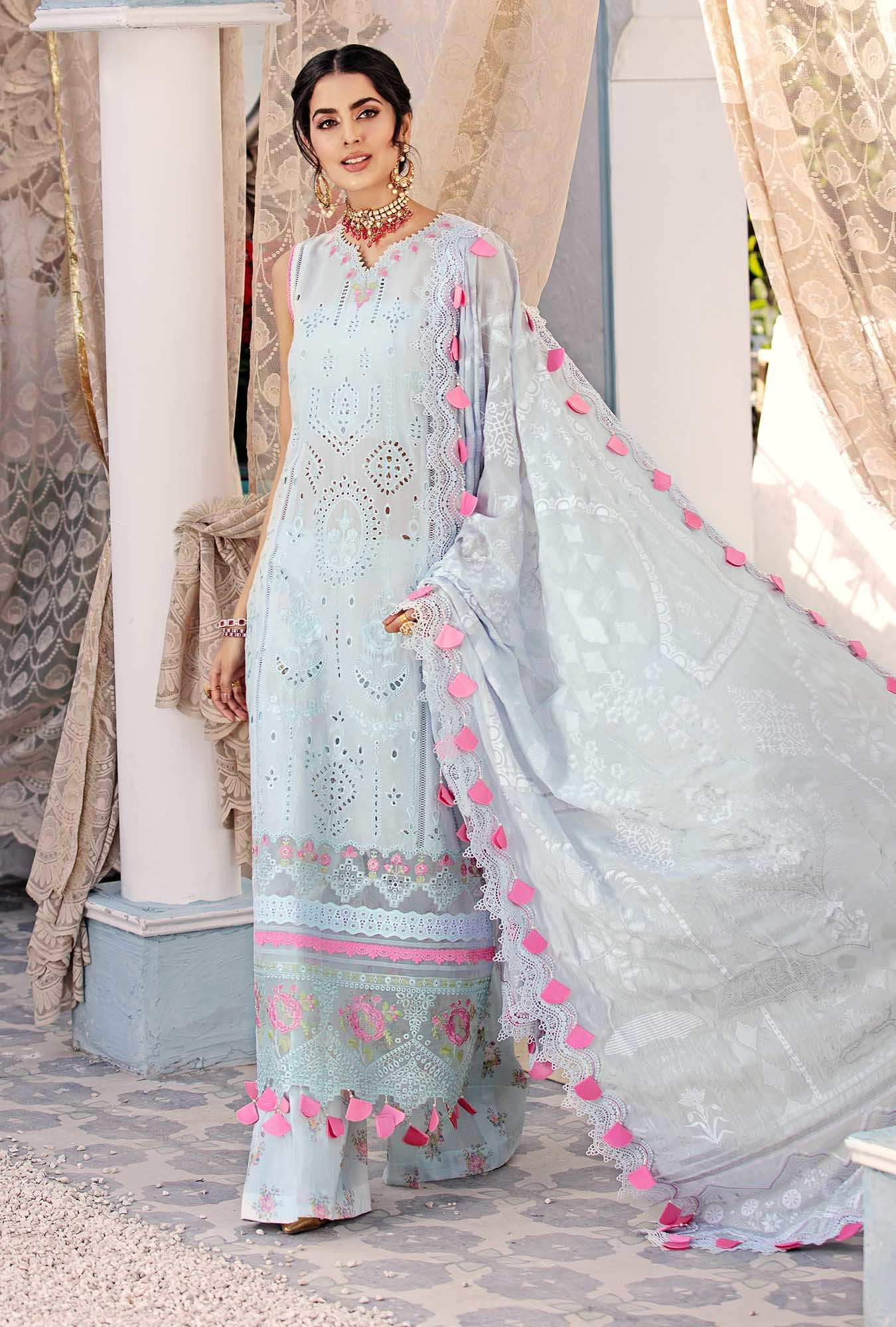 pastel blue eid dress