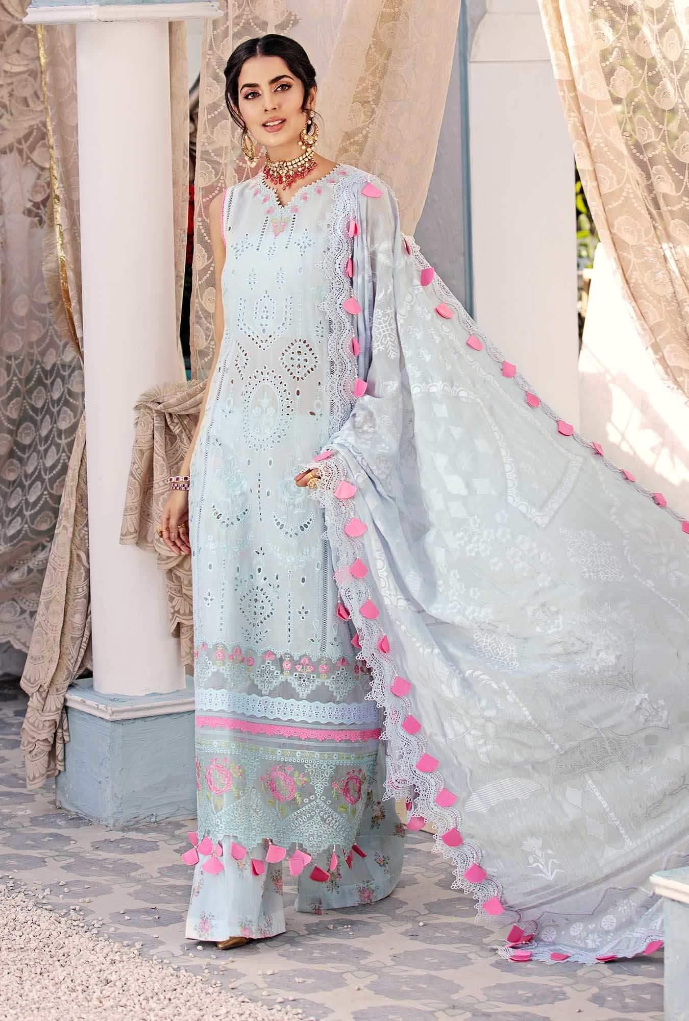 pastel blue eid dress