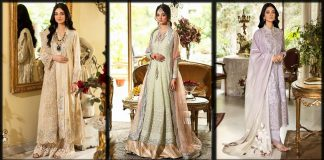 Nilofer Shahid Eid Collection 2021 Luxury Dresses for Women with Prices