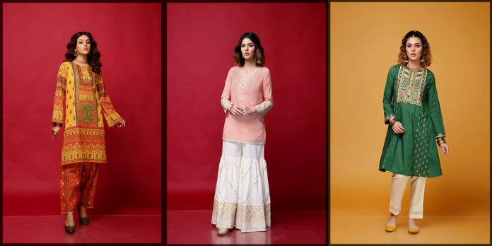 Rang ja Eid Collection for women and young girls