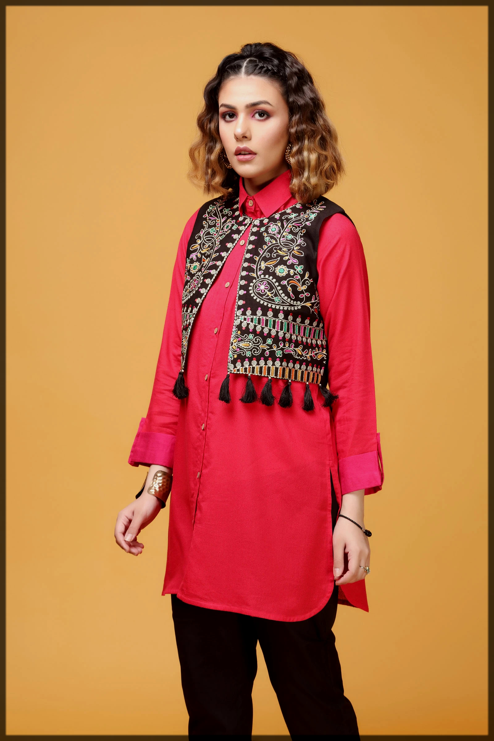 black and red summer eid collection