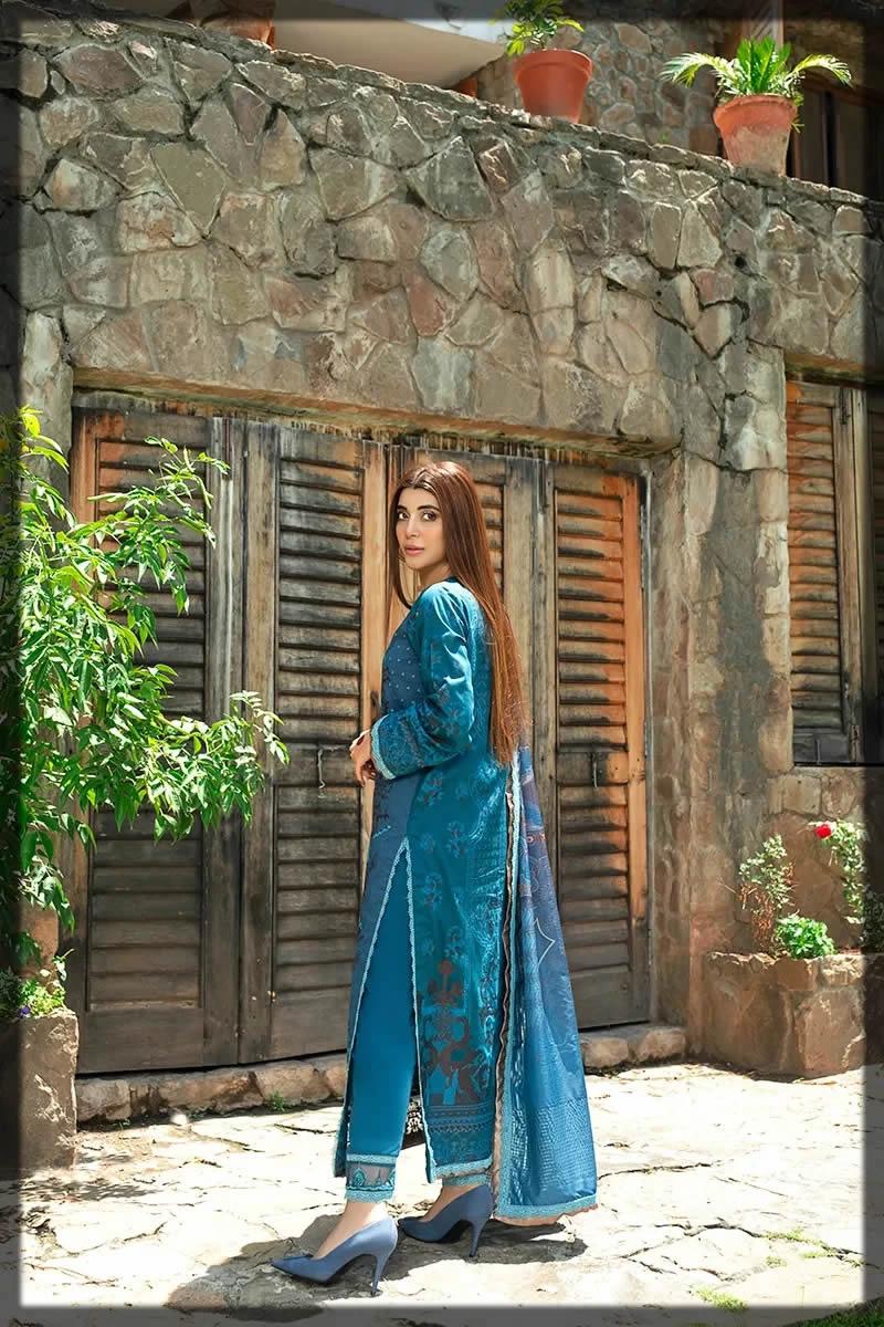blue moon eid wear by Rang Rasiya