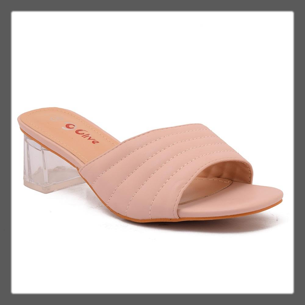 casual pink heels for women