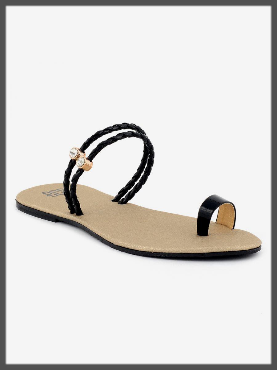 classy black summer eid footwear