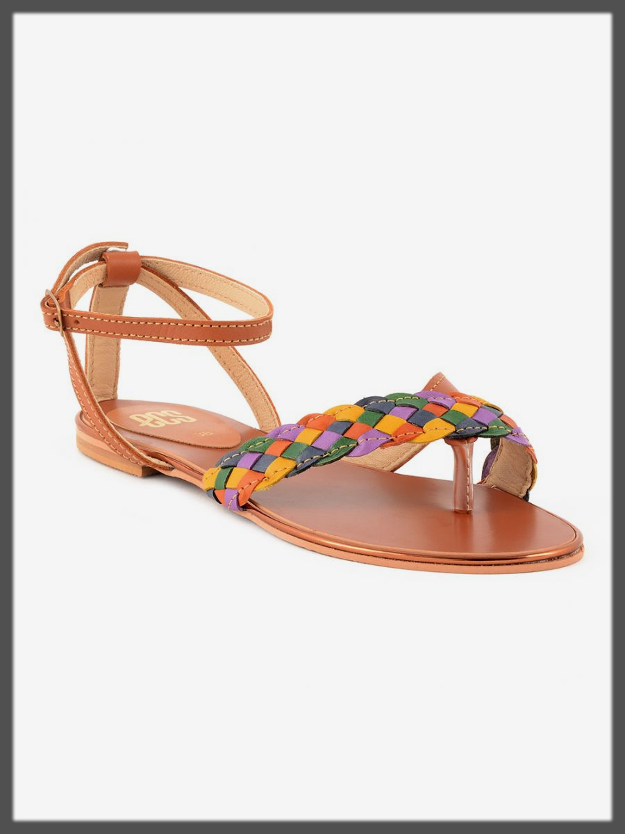 colorful summer sandals by ECS