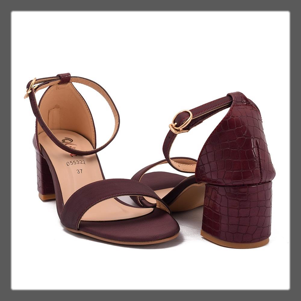 elegant maroon formal heels
