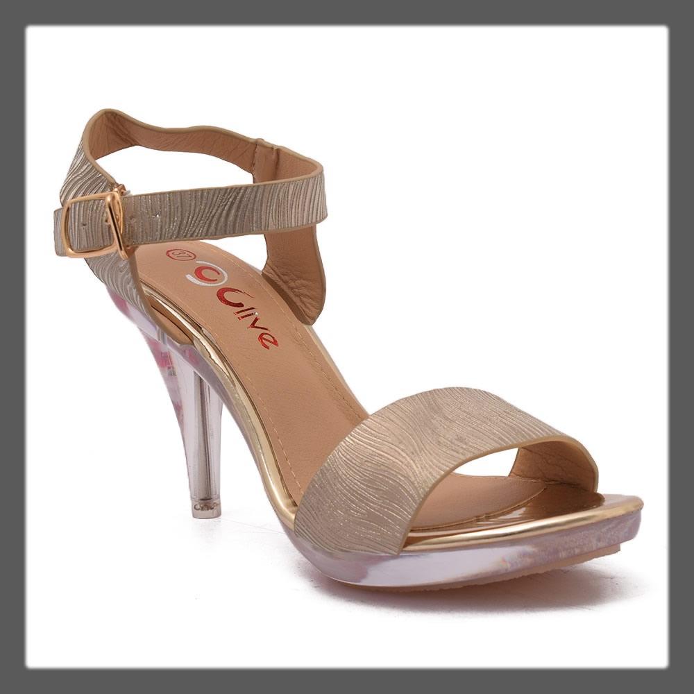 golden pointed heels for teens