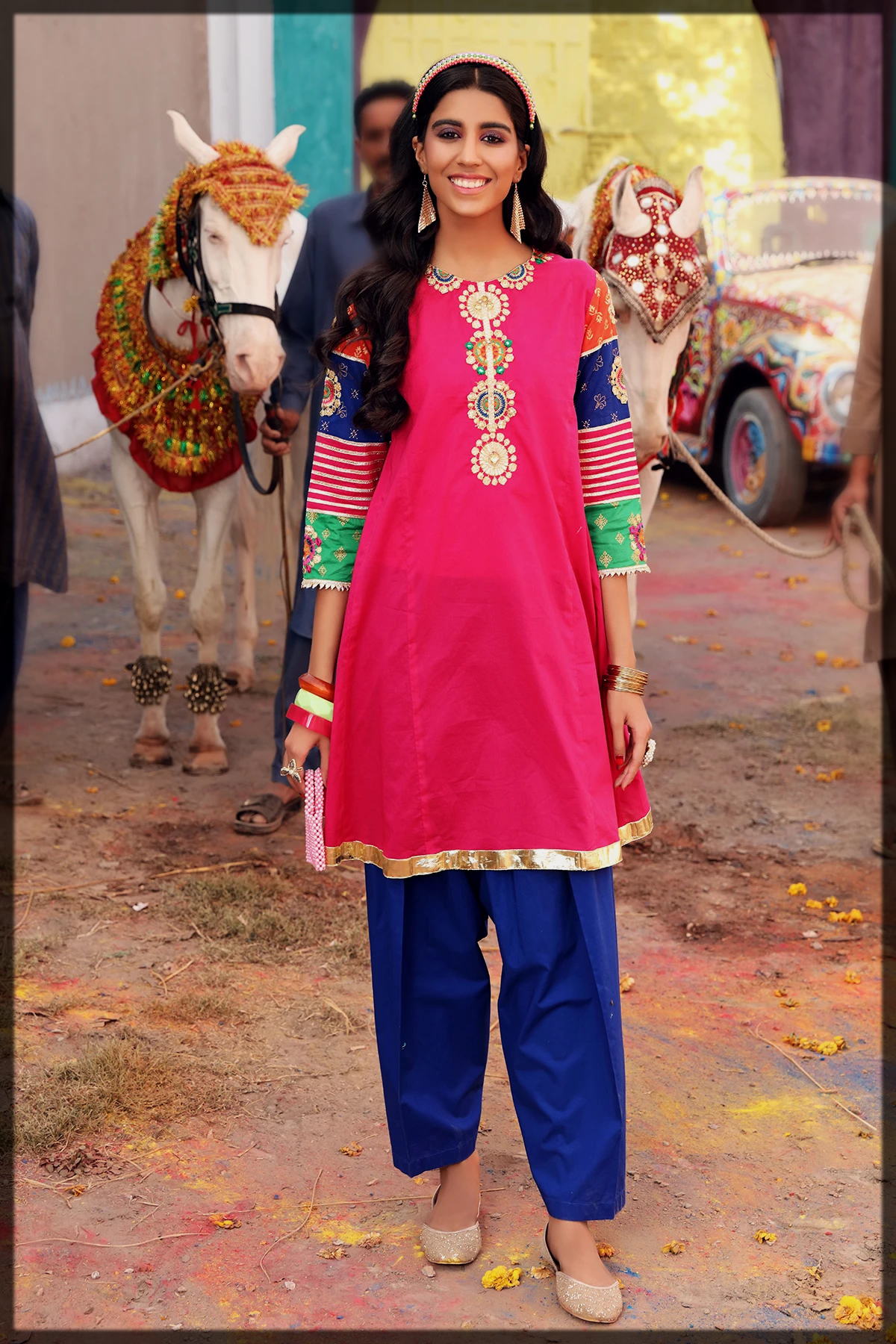 latest rang ja eid collection for women