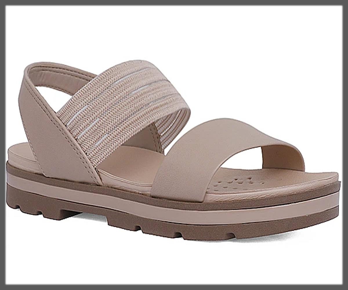 light grey sandals for women