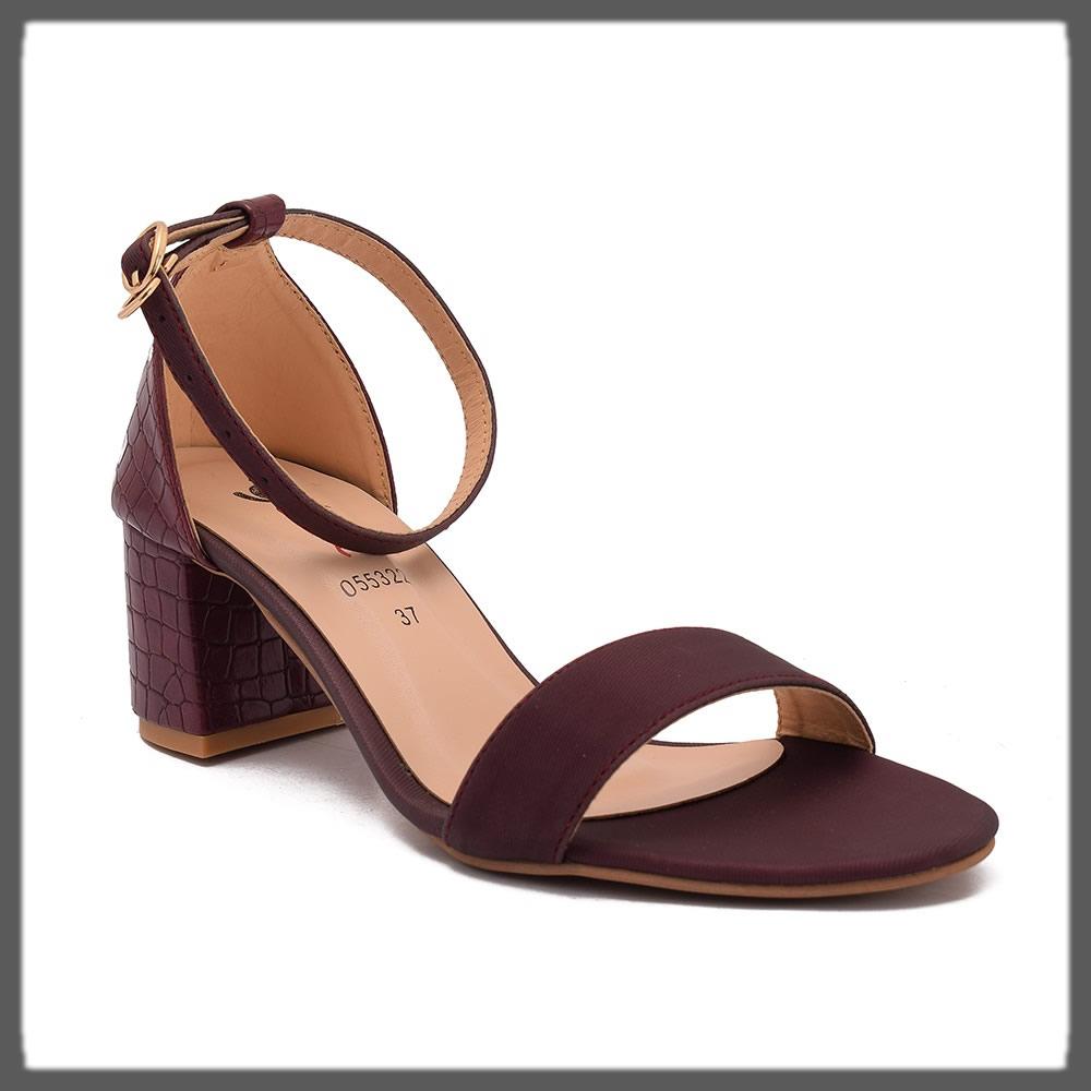 maroon formal sandal heels