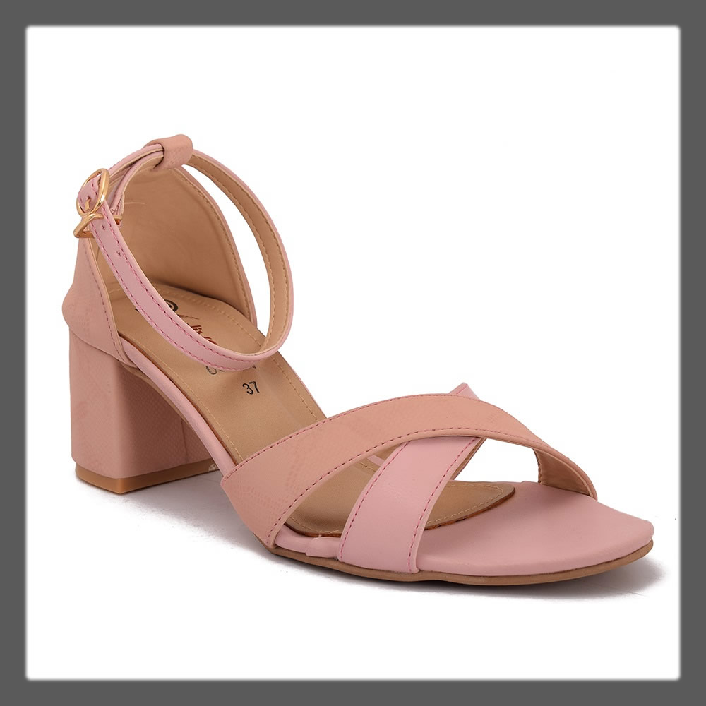 pink formal sandals
