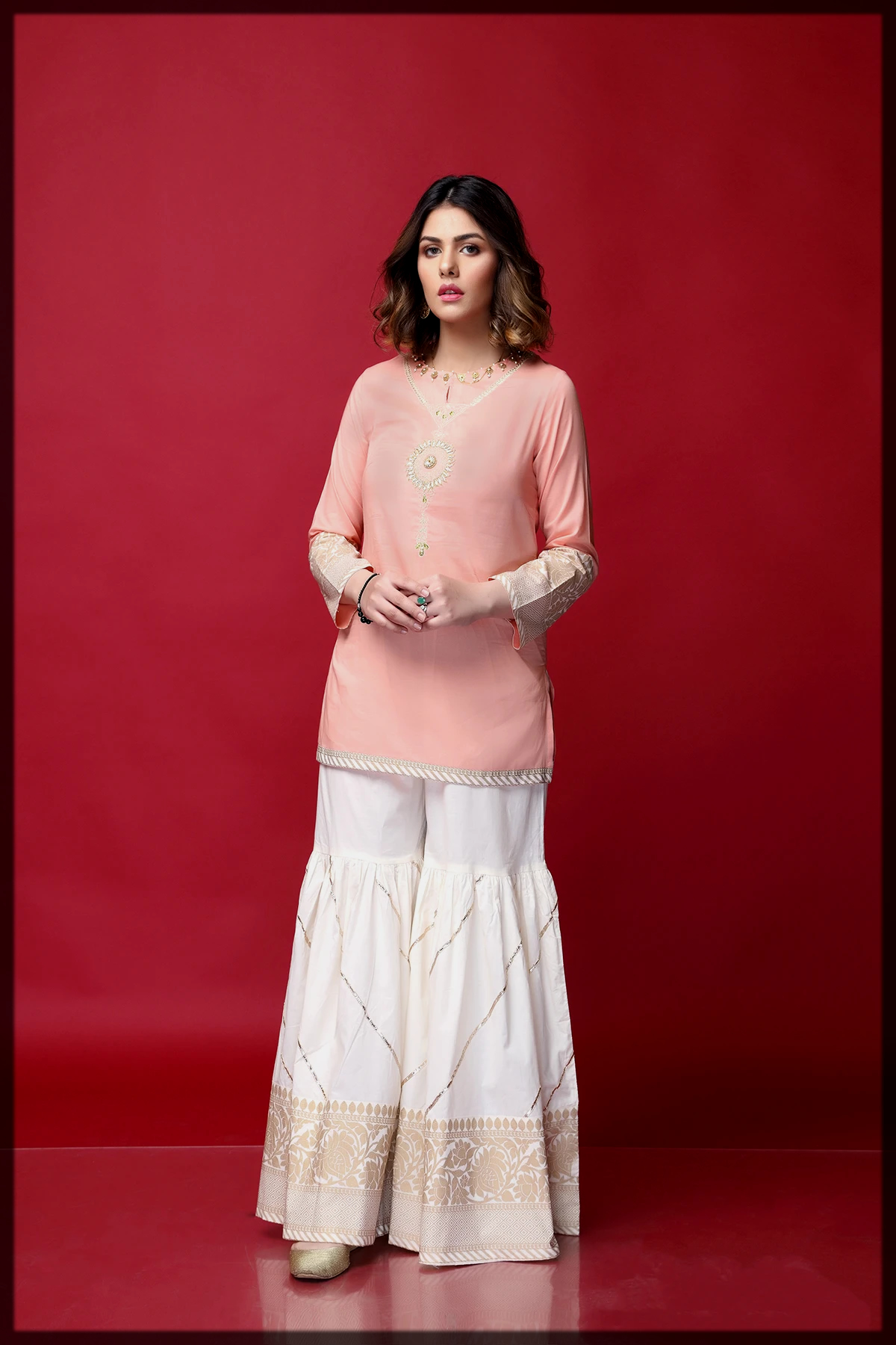 traditional eid suit for women