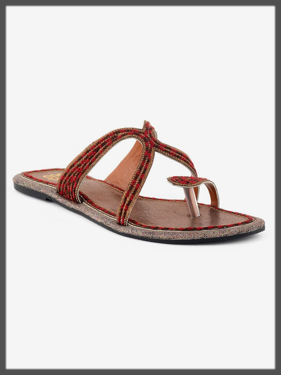 traditional summer chappal for women