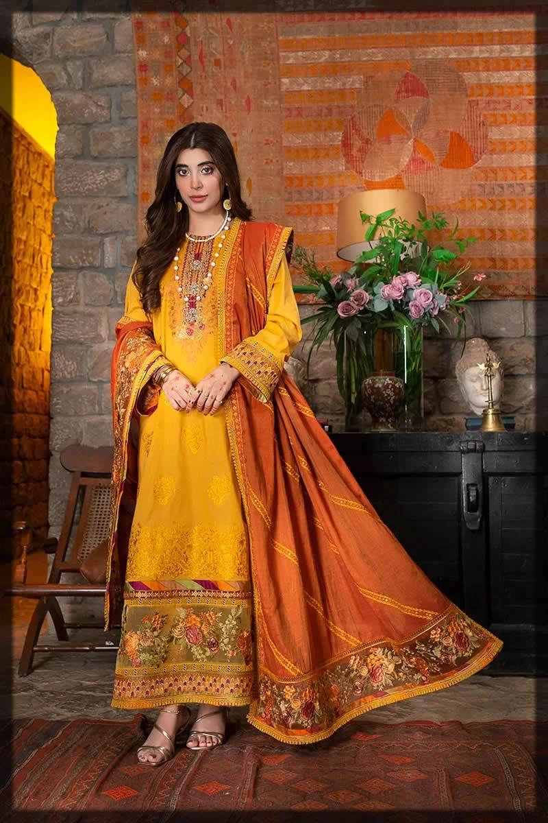 yellow eid dress