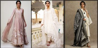 Nida Azwer Eid Collection 2021 Formal Embroidered Dresses with Prices
