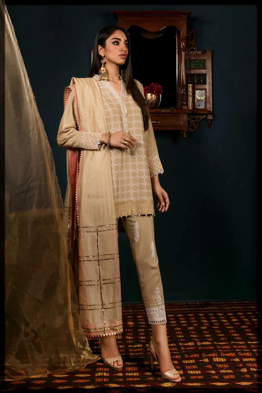 Embroidered Classic Kurta for eid ul adha