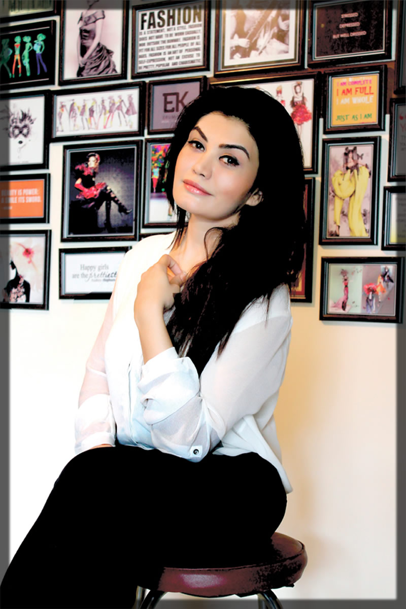 creative designer Erum Khan