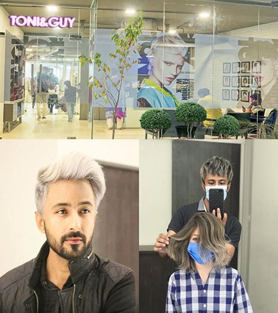 Toni & Guy salon