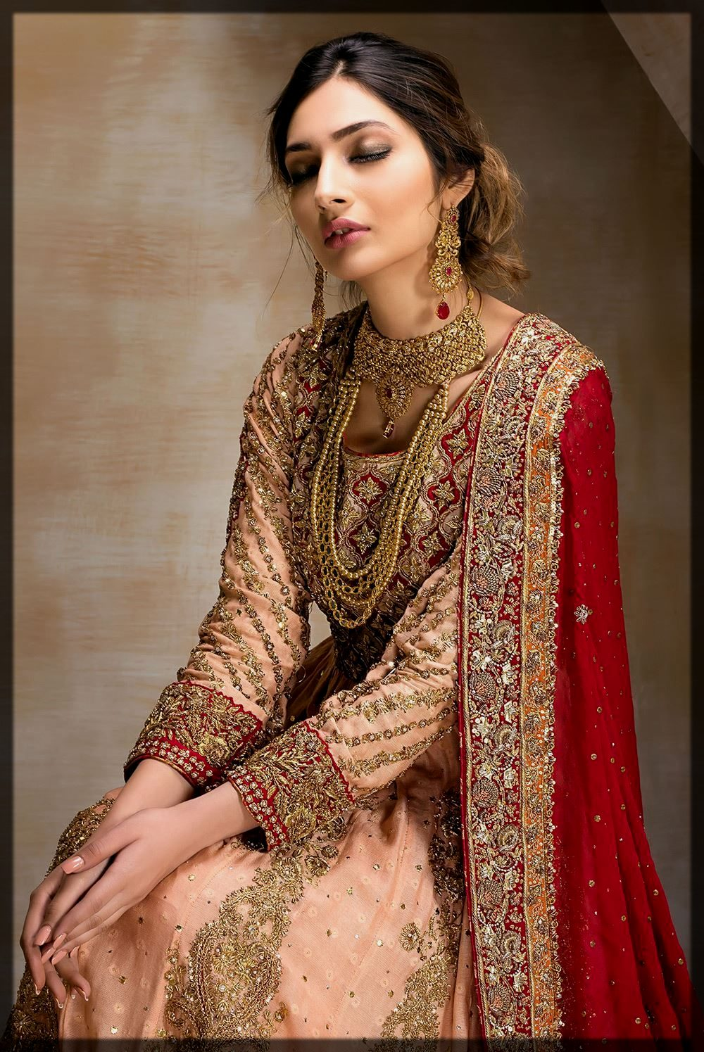 Appealing Mirusah Bridal Collection for women