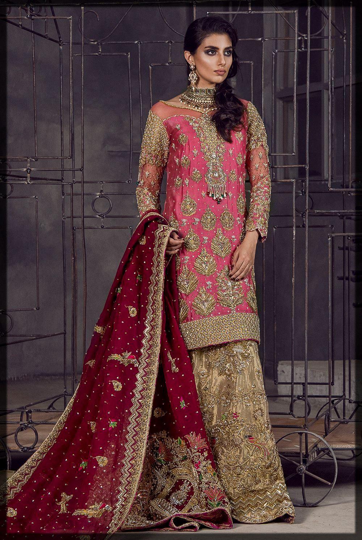 Heavily Embellished Mirusah Bridal Dress