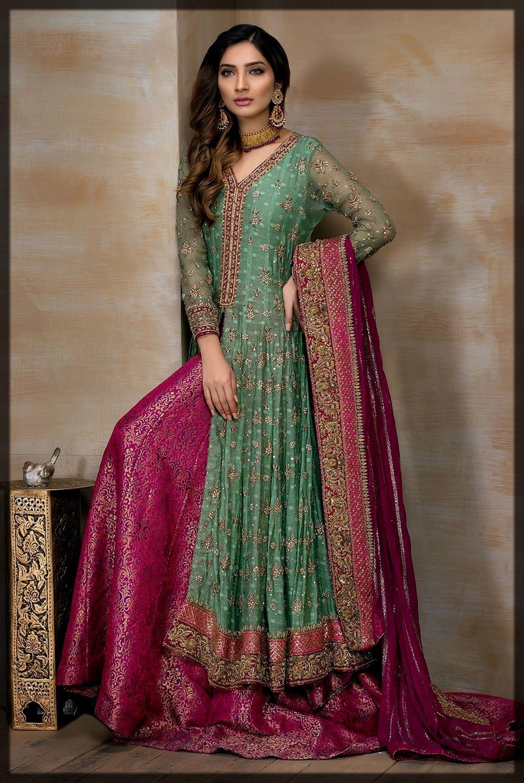 Richly Hand-Embellished Mirusah Bridal Dress