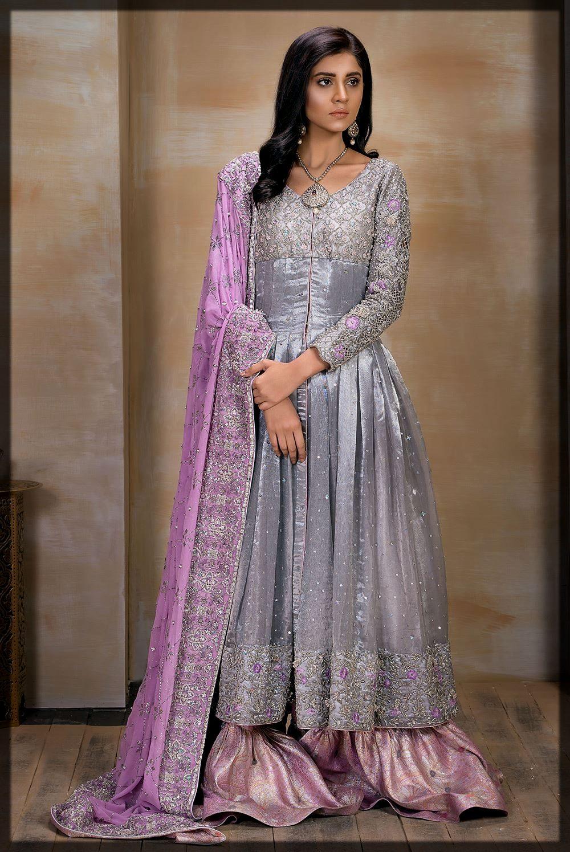 Silver and Lilac Mirusah Bridal Outfit