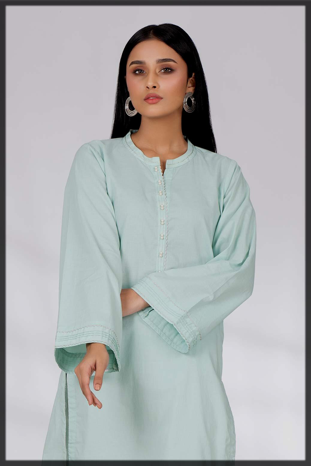 appealing winter khaddar kurta