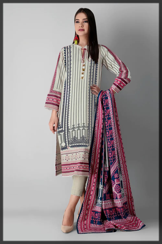 classicall winter khaddar suit